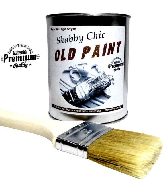 Shabby Chic Kreidefarbe Old Paint 16u20ac/1Kg Möbelfarbe Vintage Holz Lack Farbe