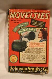 1941 Mammoth New Catalog of 9000 Novelties by Johnson Smith & Co.