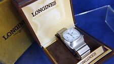1970s Vintage Longines Ultronic Chronograph Electronic F300Hz Mosaba Watch