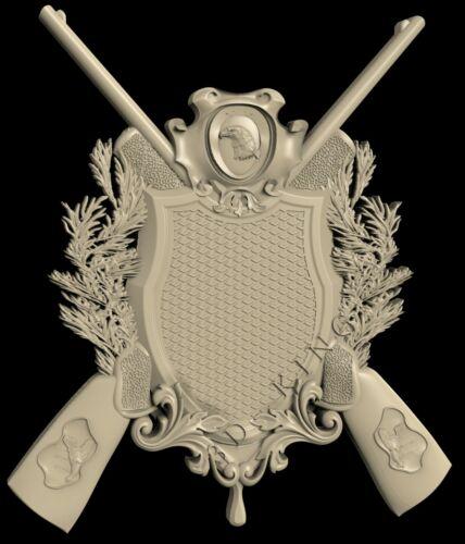 27 PCS 3D STL Models # HUNTING /& FISHING SHIELDS # CNC Aspire Artcam 3D Printer