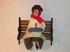 Byers Choice Retired 1991 Apple Lady with Red Stockings
