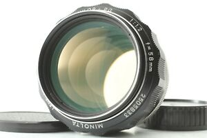 EXCELLNT-Minolta-MC-rokkor-pg-58-f-1-2-58-1-2-MD-Mount-MF-Lens-aus-Japan