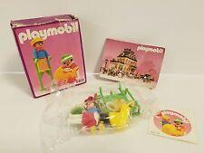 New Playmobil Vintage 5403 Victorian Mansion Dollhouse Children Stilts Buggy