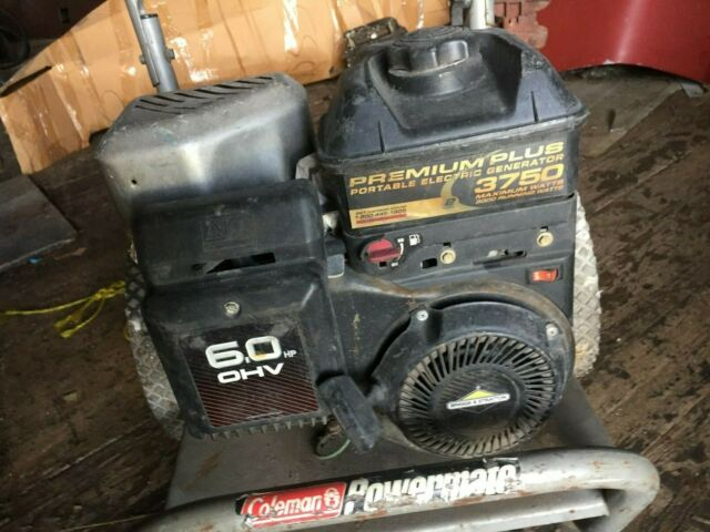 Coleman Powermate Vantage 3500 Generator for sale online   eBay