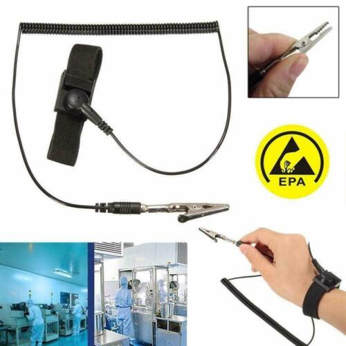 static ESD Adjustable Straps Grounding Antistatic Band Bracelets Tool L3X8