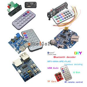 MP3 Decoder Board TF//USB// Reader IR Remote Bluetooth//FM Audio Board Module BBC