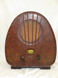 POSTE-RADIO-PHILIPS-834-A-SUPER-INDUCTANCE-BOITIER-bakelite-834-A-annee-1933-FR