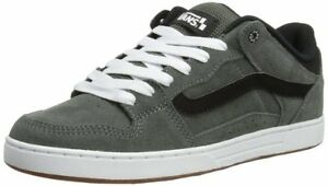 Details zu Vans BAXTER S12 Mens Shoes (NEW) Charcoal Black White SIZES 7 & 8 Free Shipping