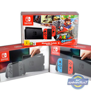 1-x-Nintendo-Switch-Box-Protector-for-Console-STRONG-0-5mm-Plastic-Display-Case