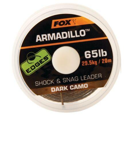 1,00€//1m geflochtene Schnur Fox Edges Armadillo Braid 65lbs 20m Vorfachschnur