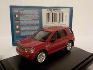 Model-Van-Land-Rover-Freelander-Red-1-76-New