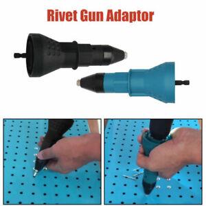 Per-Rivetto-Elettrico-Trapano-Rivettatrice-dado-Pistola-Adattatore-Accessorio