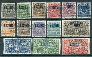 SCHLESWIG-1920-Definitive-issue-overprinted-Zone-1-used
