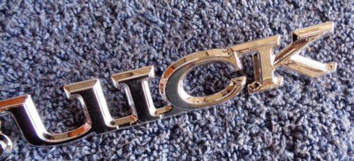 NOS NEW OEM GM Buick Models Chrome Tail Light  Body Emblem Ornament Nameplate
