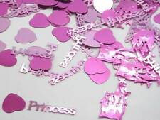 PRINCESS PINK TABLE CONFETTI BIRTHDAY PARTY - 14G BAG!