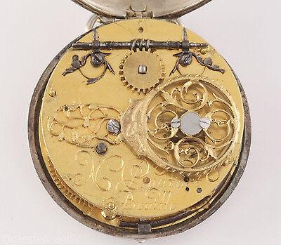 Nicolas Plantart  Renaissance 1640 Single hand verge fusee pocket watch France