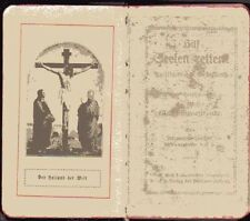 Kleines altes Gebetbuch Hilf Seelen retten 1918