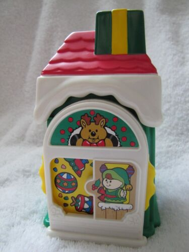Fisher Price Little People CHRISTMAS TOY SHOP Holiday Village Main Street Rare