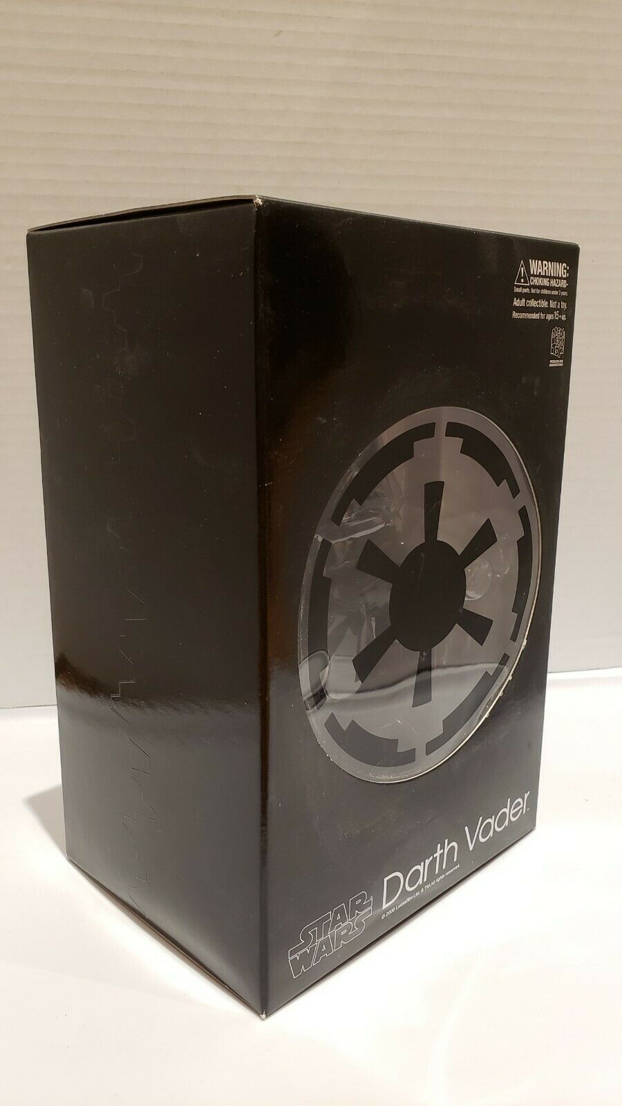 New Star Wars Medicom Toy Darth Vader 2006 Tomy Sideshow Vinyl Figure on eBay thumbnail