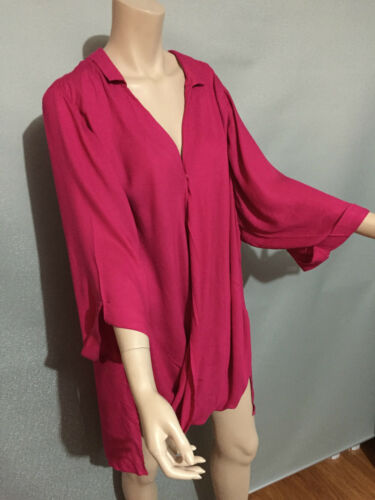 BNWT Womens Sz 20 Autograph Brand Fuschia Pink Cover Up Wrap Jacket RRP $60