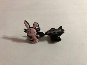 Pink-Happy-Bunny-Shoe-Doodle-goes-in-holes-Rubber-Shoes-Crocs-Shoe-Charm-HAP1002