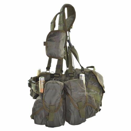 SPOSN Tactical Vest Smersh Olive Russian Army Spetsnaz Belt System SSO