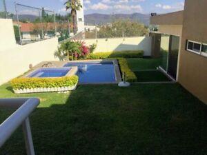 Venta casa con alberca en Burgos, Cuernavaca.