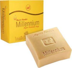 2 x Mysore Sandal Soap Millenium Soap 150 gm (2x 150gms)