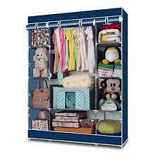 Keimav-Heavy-Duty-Clothes-and-Wardrobe-Organizer-Blue