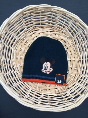 6-24 mos NEW Toddler Kids Baby Boys Mickey Mouse Winter Knit Cap Hat 1-2-3-4