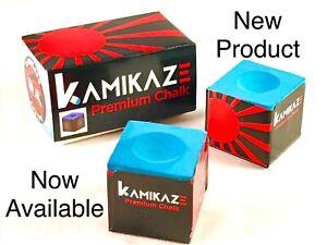 NEW-Kamikaze-Premium-Pool-Chalk-1-Box-2-Cubes-FAST-SHIPPING