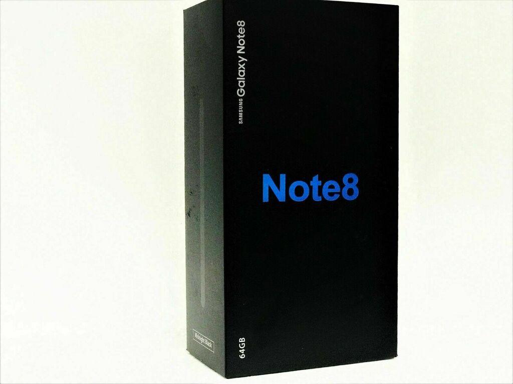 NEW UNLOCKED Samsung Galaxy Note 8 SM-N950U 64GB BLACK N950U T-MOBILE AT&T    eBay