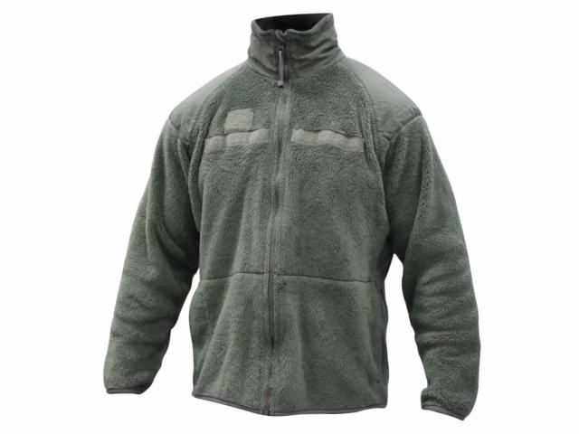 NEW Size Large US Military Polartec Fleece Jacket Liner ECWS