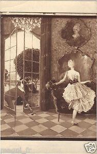 Art-cpa-La-rose-par-Henri-MONTASSIER-Salon-de-Paris