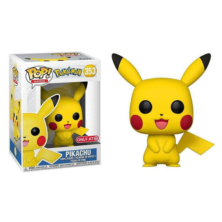 FUNKO POP Pokemon Cute Pikachu Action Figures Collection Mod