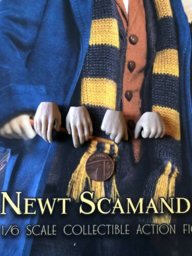 Star Ace Fantastic Beasts Newt Scamander Hands x 4 loose 1//6th scale