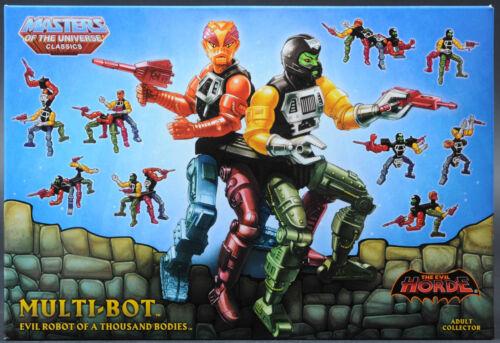 2015 MOTU Multi-Bot MOTUC Masters of the Universe Classics MISB