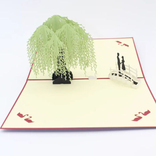HelloPopCards 3D Pop Up Card Love Tree Greeting Card Ships from USA FREE!