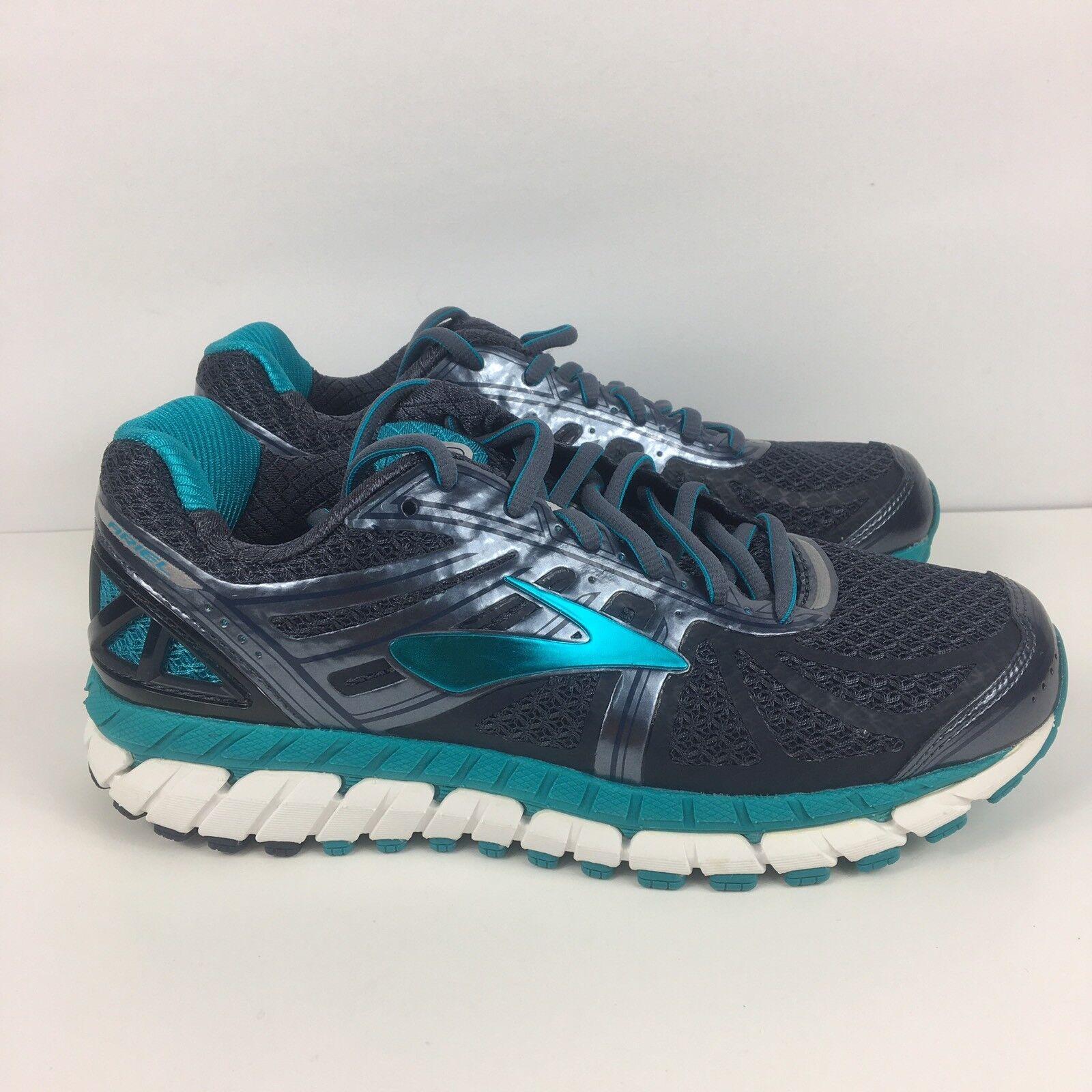 Brooks Brooks Brooks Ariel 16 Women's Size 7 Running shoes bluee Teal New 515e8c