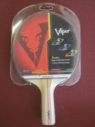 Viper Max Trajectoire Ping Pong Paddle 70-3010 tennis de table raquette