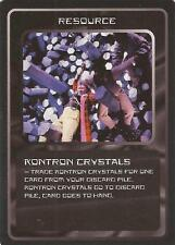 "Doctor Who MMG CCG - Resource ""Kontron Crystals"" Card"