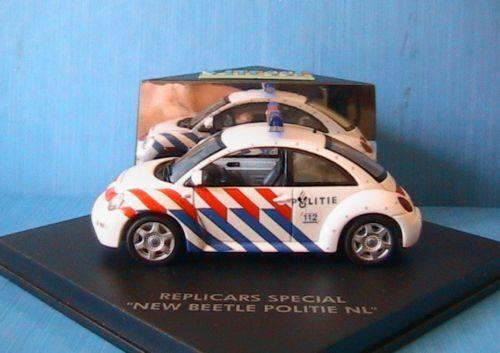 VW NEW BEETLE POLITIE NL 1999 VITESSE 1 43 REPLICARS REPLICARS REPLICARS eb7131
