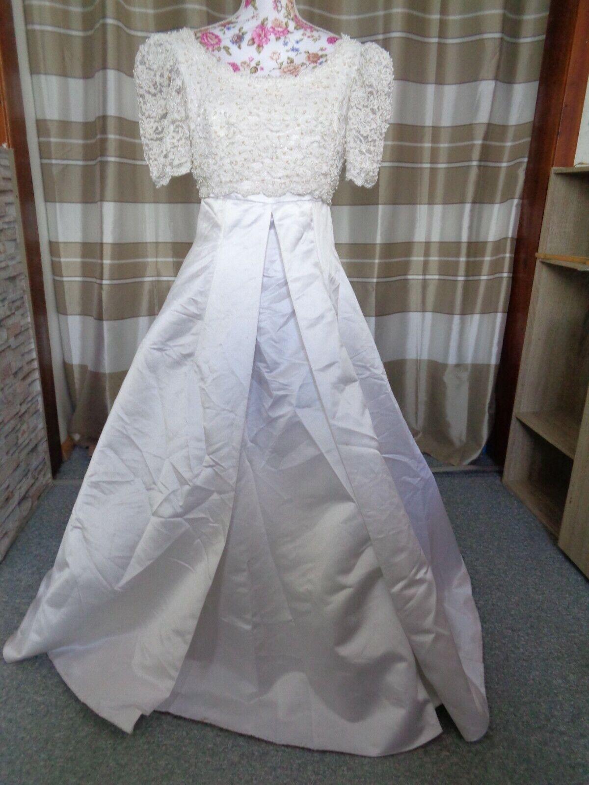 (31)Edles Damen Braut Standesamt Abend Kleid GR: 38