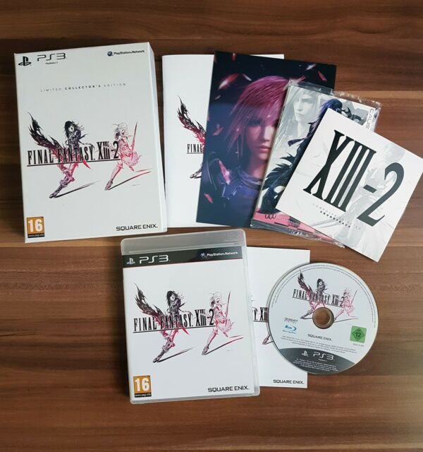 Final Fantasy XIII-2 Limited Collectors Edition Playstation 3 PS3 *wie neu*
