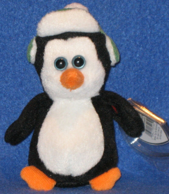 MINT with MINT TAG TY ZERO the PENGUIN JINGLE BEANIE BABY