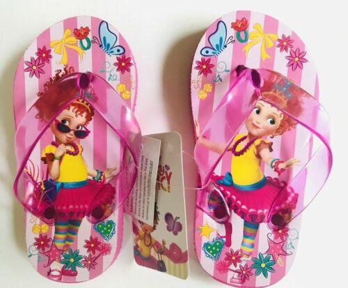Flip Flops Beach Sandal Fancy Nancy Toddler Child Sizes Girl Pink Blue NEW