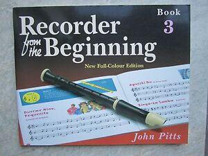 Discret Enregistreur From The Beginning Book 3 * Neuf * Par John Pitts ** Maintenant Réduit **-afficher Le Titre D'origine En Voyageant