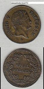 Preussen Friedrich Wilhelm IV. Rechenpfennig Spielmarke Lauer Nürnberg (mm71)