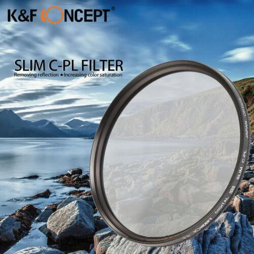 K&F concepto HD 52mm Slim Filtro Polarizador Circular Polarizador CPL Polarizador