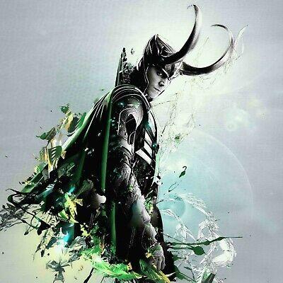 "24/"" 20/"" Marvel/'s Avengers Loki poster wall art home decor photo print 16/"""